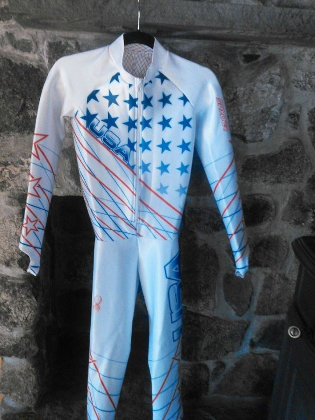 Win Leanne Smith's Olympic GS Suit from Sochi